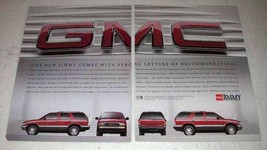 1994 GMC Jimmy Ad - Strong Letters of Recommendation - $14.99