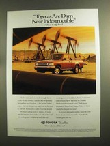 1994 Toyota 4x2 Standard Bed DX Pickup Truck Ad - $14.99