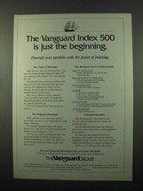 1996 The Vanguard Group Ad - Just the Beginning - $14.99