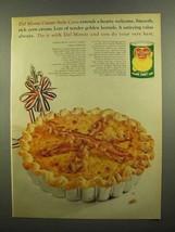 1965 Del Monte Golden Sweet Corn Ad - Corn L'orraine - $14.99