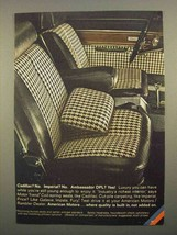 1966 AMC Ambassador DPL Ad - Cadillac? No. Imperial? No - $14.99