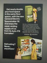 1966 General Electric Model TCF-19C Refrigerator Ad - $14.99