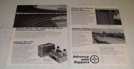 1966 Koppers Ad - CELLON-Treated Wood, Dylite Foam - $14.99
