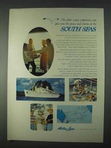 1966 Matson Lines Ad - No Other Cruise Experience - $14.99