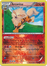 Arcanine 13/99 Reverse Holo Uncommon Next Destinies Pokemon Card - $1.29