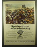 1974 Fribourg & Treyer Cigarettes Ad - Our Successes - $14.99