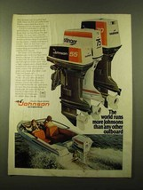 1976 Johnson 55, 70 and 75 Outboard Motors Ad - $14.99