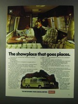 1977 GMC Motorhome Ad - Showplace Goes Places - $14.99