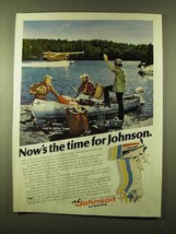 1978 Johnson 6 Outboard Motor Ad - Now's The Time - $14.99
