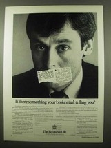1984 The Equitable Life Ad - Your Broker Isn't Telling - $14.99