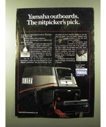 1984 Yamaha Outboard Motors Ad - Nitpicker's Pick - $14.99
