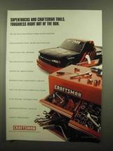 1996 Craftsman Tools Ad - Supertrucks Toughness - $14.99