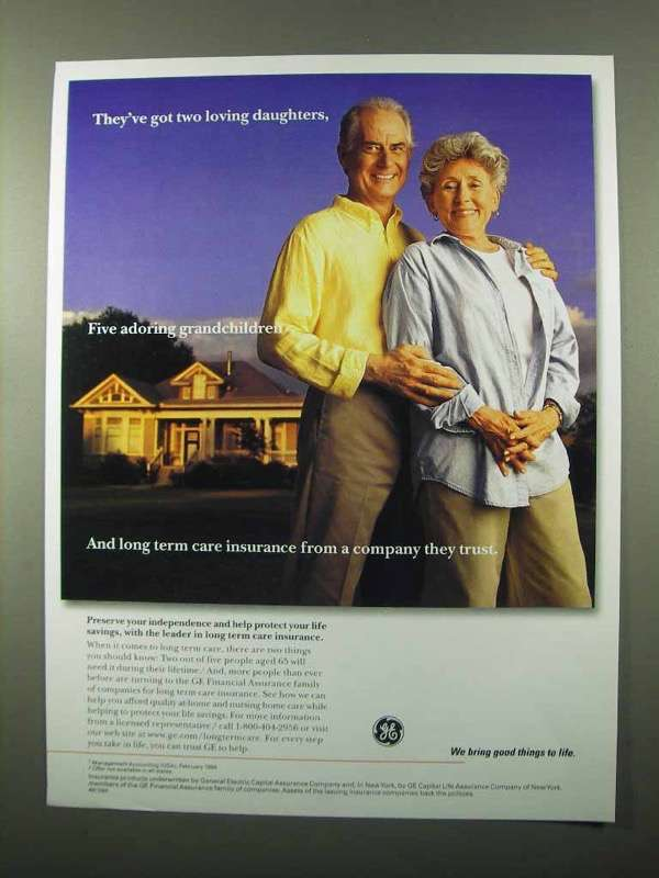 1999 GE Financial Assurance Ad - Two Loving Daughters