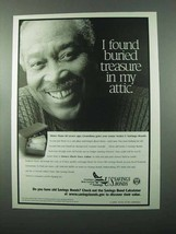 2001 U.S. Savings Bonds Ad - Treasure in My Attic - $14.99