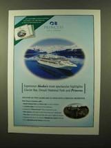 2003 Princess Cruise Ad - Alaska's Highlights - $14.99