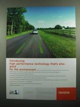 2003 Toyota Hybrid Synergy Drive Ad - High Performance - $14.99