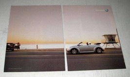 2003 Volkswagen VW Beetle Ad - Drivers Wanted - $14.99