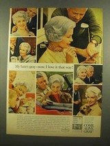 1965 Clairol Come Alive Gray Hair Color Ad - I Love It - $14.99
