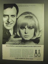 1965 Clairol Shampoo Ad - World-Famous Hairdresser - $14.99