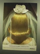 1965 Clairol Vitapointe Hairshine Cr?me Ad - Shiny - $14.99
