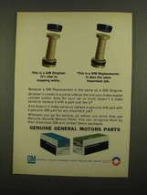 1965 GM Parts Ad - Brake Master Cylinder Piston - $14.99