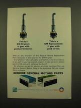 1965 GM Parts Ad - Carburetor acceleration pump - $14.99