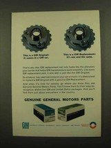 1965 GM Parts Ad - Planetary Gear Carrier - $14.99