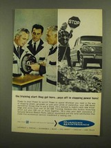1965 GM Service Ad - The Training Start They Get Here - $14.99