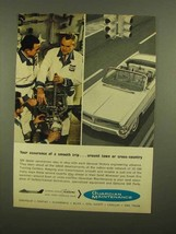 1965 GM Service Ad - Your Assurance of a Smooth Trip - $14.99