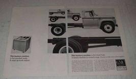 1965 GMC Trucks Ad - This Business Machine - $14.99