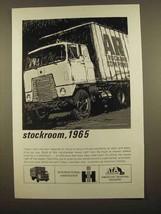 1965 International Harvester Truck Ad - Stockroom - $14.99