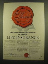 1965 Investors Syndicate Life Ad - Life Insurance - $14.99