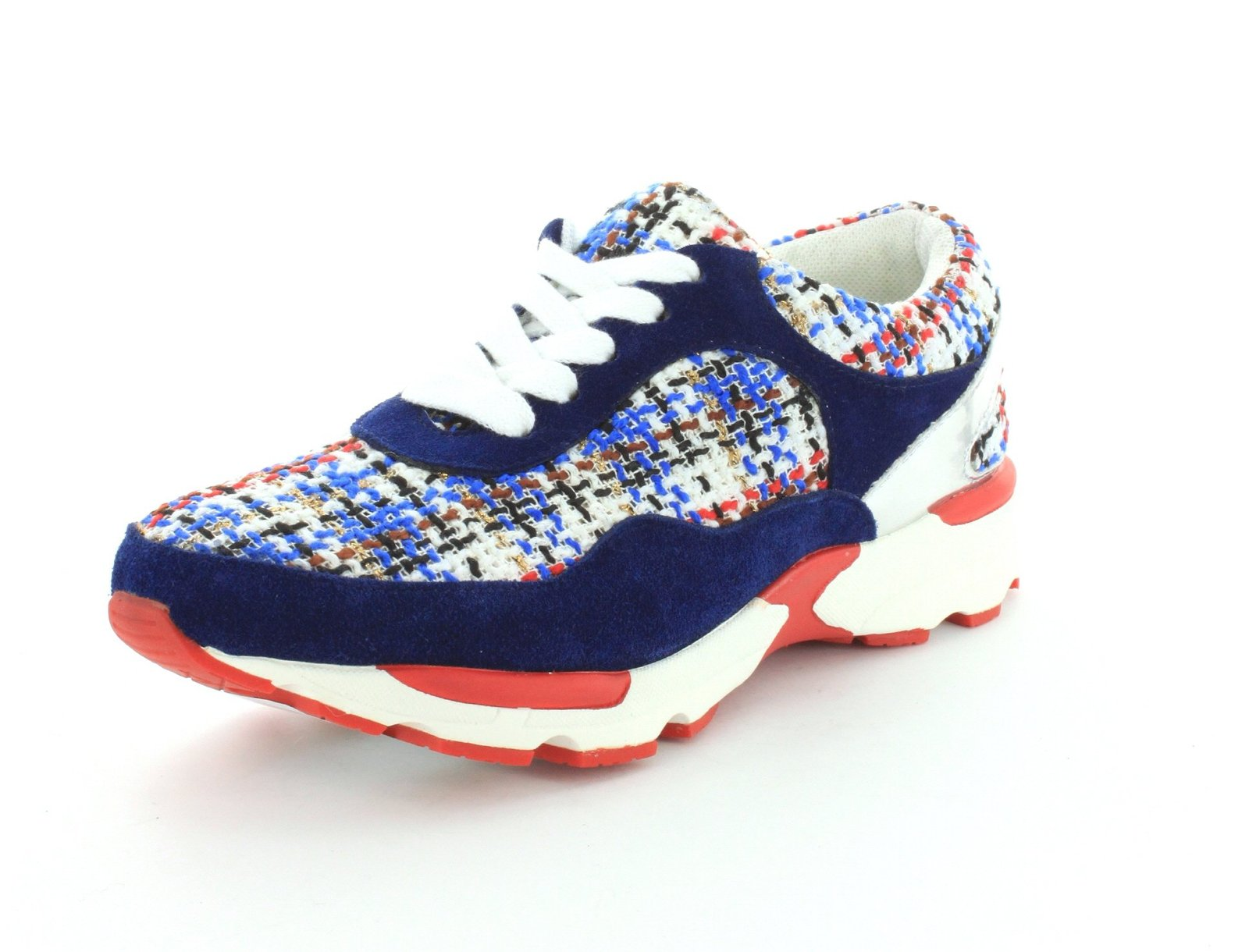 Jeffrey Campbell Womens Run Walk Navy Sneaker - 6 M