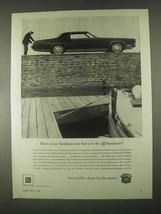 1967 Cadillac Fleetwood Eldorado Ad - Be All Business? - $14.99