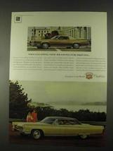 1967 Cadillac Sedan De Ville and Fleetwood Eldorado Ad - $14.99