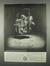 1967 GM Detroit Diesel Engine Ad - Demand Money Back - $14.99