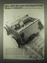1967 A-M Copy Service Plan Ad - Steering For Ford - $14.99
