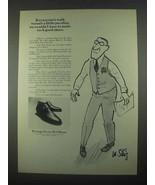 1967 Portage Porto-Ped Shoes Ad - Walk Peculiar - $14.99