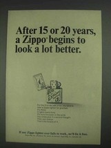 1967 Zippo Lighter Ad - After 15 or 20 Years - $14.99