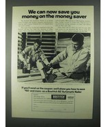 1967 Bostitch N2 Automatic Nailer Ad - Money Saver - $14.99
