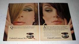 1967 Clairol Cosmetics Color & Contour Kit Ad - $14.99