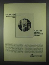 1967 Columbia Gas System Ad - Sales and Earnings Up - $14.99