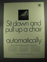 1968 GM Ternstedt 6-Way Power Seats Ad - Pull Up - $14.99
