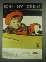 1967 GM Body by Fisher Ad - Lots of Lock - $14.99