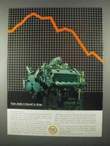 1967 GM Detroit Diesel Engine Ad - Stock Bound to Drop - $14.99