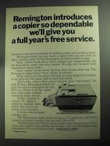 1968 Remington R-2 Electrostatic Copier Ad - Dependable - $14.99