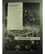 1968 The Bureau of National Affairs Ad - Elections - $14.99