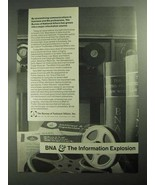 1968 The Bureau of National Affairs Ad - Information - $14.99
