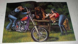 1983 David Mann Illustration - The Picnic - $14.99