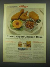 1967 Kellogg's Corn Flake Crumbs Ad - Chicken Bake - $14.99